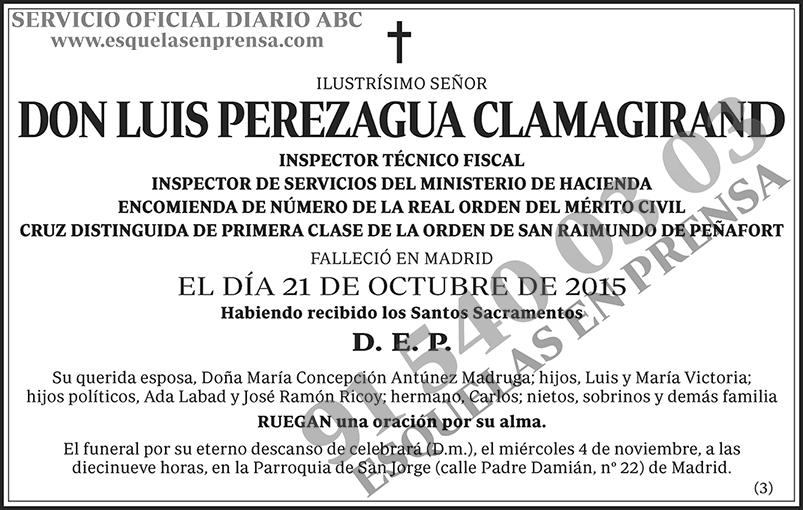 Luis Perezagua Clamagirand
